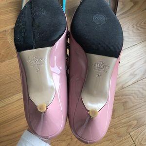 Valentino Shoes - Valentino rockstud patent leather slingback pump